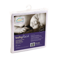 babyRest Waterproof Mattress Protector Bassinette 650x400