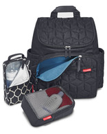 Skip Hop Forma Backpack Diaper Bag  - Black