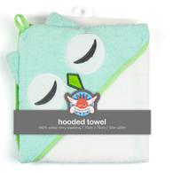 Weegoamigo  Hooded Towel - Teal Owl