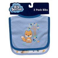 Big Softies 2 pack Bibs - Boy