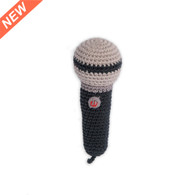 Weegoamigo  Crochet Rattle - Mini Microphone