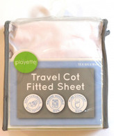 Playette Travel Cot Fitted Sheet
