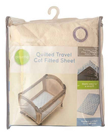 Playette Quilted Travel Cot Padded Sheet