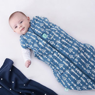 ergoPouch Cocoon Swaddle + Sleep Bag (2.5 Tog) - Midnight