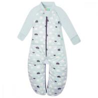 ergoPouch Sleep Suit Bag (2.5 tog) - Mint Clouds