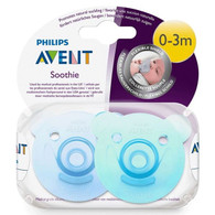 Avent Soothie Bear 2pk - Blue/Green Dummie