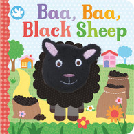 Little Me Baa, Baa, Black Sheep Finger Puppet Book