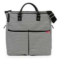 Skip Hop Duo Spec Edition Diaper Bag - Black Stripe