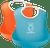 BabyBjorn Soft bib, Set of 2 - Orange & Turquoise