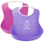 BabyBjorn Soft bib, Set of 2 - Pink & Lilac