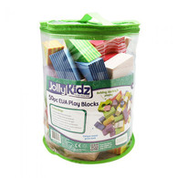 Jolly Kidz Play Blocks Assorted Foam Shapes 50pcs