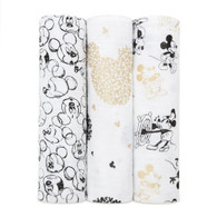 aden + anais Classic Swaddle Set 3-pack Mickey's 90th