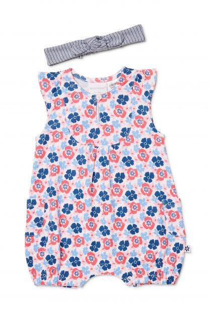 NEW Marquise Romper /& Bodysuit Blue Set 2pce Size 00