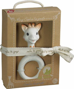 Vulli's Sophie the Giraffe - 'So Pure' Very Soft Ring Teether