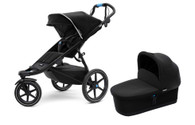 Thule Urban Glide 2 Single&Bassinet - Black on Black