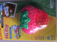 Nuby Icy soothing teether - STRAWBERRY