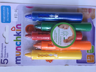 Munchkin Bath Crayon - pack of 5 bright colours