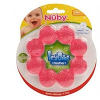 Nuby Icy soothing teether - TEXTURED LUMPY RING