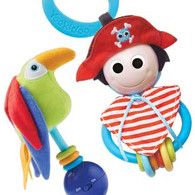 Yookidoo Pirate Play set Rattle & Teether Age 0+