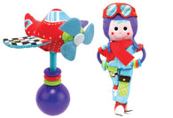 Yookidoo Pilot Rattle & doll Play set