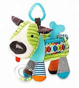Skip Hop Activity Puppy -Crinkle,  Rattle & Teether Age 0+