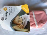 Safety 1st - No scratch Mittens - pink