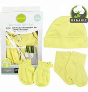 Playette Bamboo Gift Set: Mittens, Socks & Cap