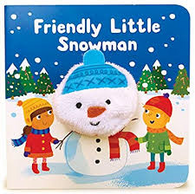 Frendly Little Snowman Finger Puppet Book