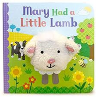 Mary had a little lamb,  Finger Puppet Book