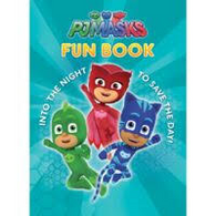 PJMasks Fun Book - Puzzles, stories & colouring hard cover book