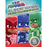 PJMasks - All shout Hooray - Deluxe colouring book