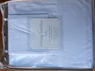 Living Textiles Cotton Poplin Sheet Set - Cot - WHITE