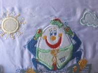 Bubba Blue 3 Pce Bassinet Sheet Set - Humpty Dumpty