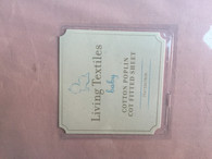 Living Textiles Cotton fitted Sheet - Cot - PINK