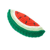 Weegoamigo Crochet Rattle- watermelon