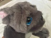 Keel Toys Cuddle Puppies - Grey French Bulldog