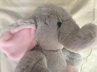 Korimco Ballerina Elephant - Grey & Pink