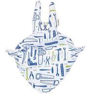 Toshi Soft Bunny  Blue Tools Comforter