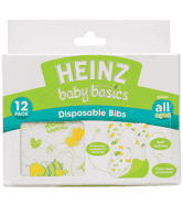 Heinz baby Basics - Disposable Bibs - 12pack