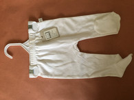 Marquise footed legging 1x white Size 000