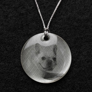 French Bulldog Pendent Necklace