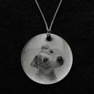 Jack Russell Terrier Pendant Necklace