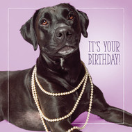 Lil's Celebrate in Style Happy Birthday Card