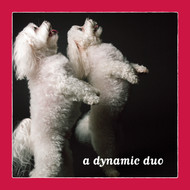 Dynamic Duo Maltese Love Card