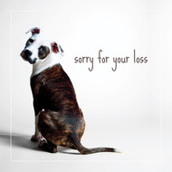 Charlotte the Pitbull Sympathy Card