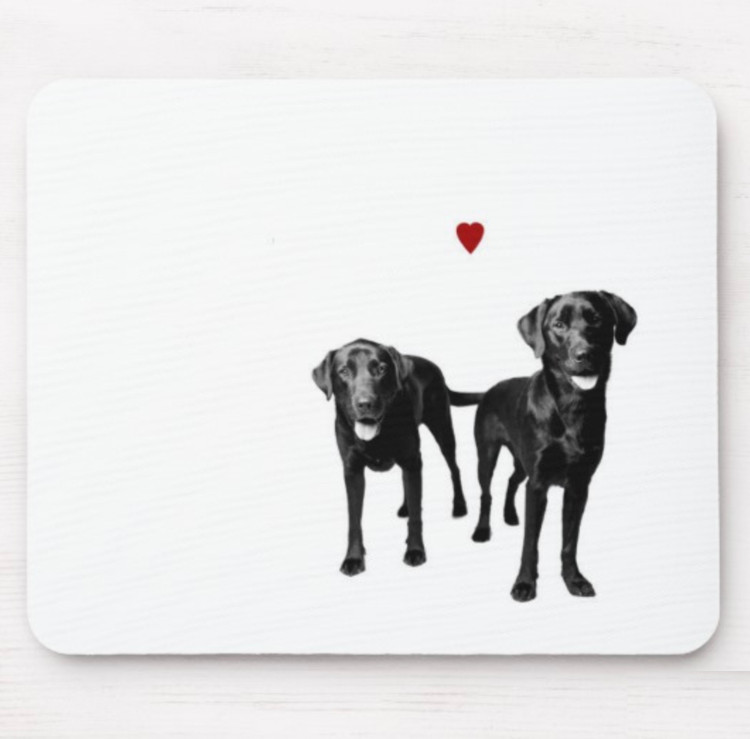 Custom mousepad using imagery from your portrait session with Amanda Jones.