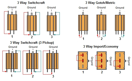 3-WayToggle Switch Terminal Connections