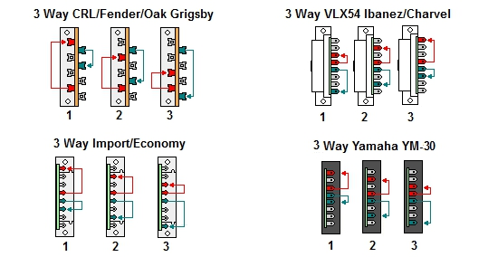 wiring 3 way switches