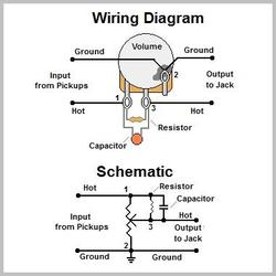 pickup wiring schematic