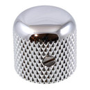 Dome Top Knob for Guitar & Bass-Chrome